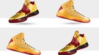 NBA 2k13 MyCAREER - How to Create Custom Nike Hyperdunk Plus ID, LeBron X, KD IV, and Buy Them
