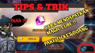 CARA MENDAPATKAN MAGIC CUBE GRATIS !! | TRIK MANJUR 1K SUBS | GARENA FREE FIRE