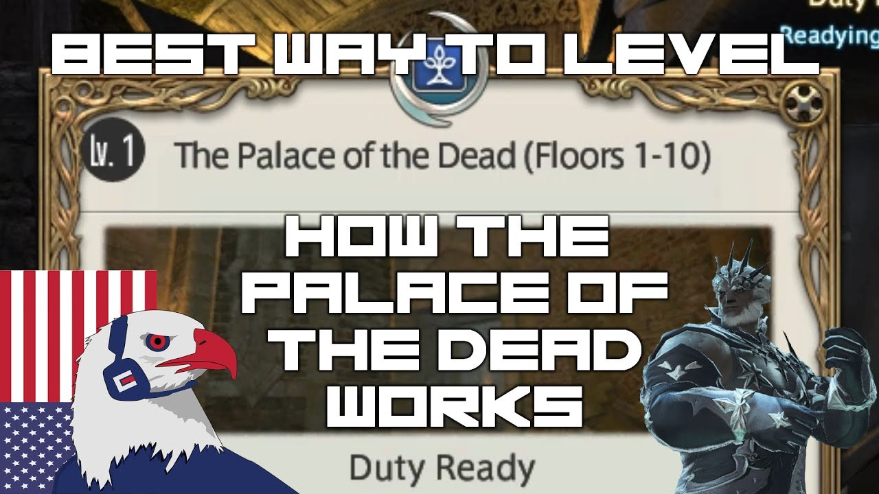 FFXIV Leveling guide - Unlocking Palace Of The Dead - PotD (How it Works)