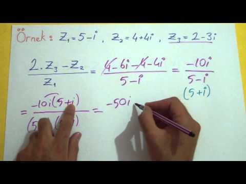 Karmaşık Sayılar 2 Şenol Hoca Matematik