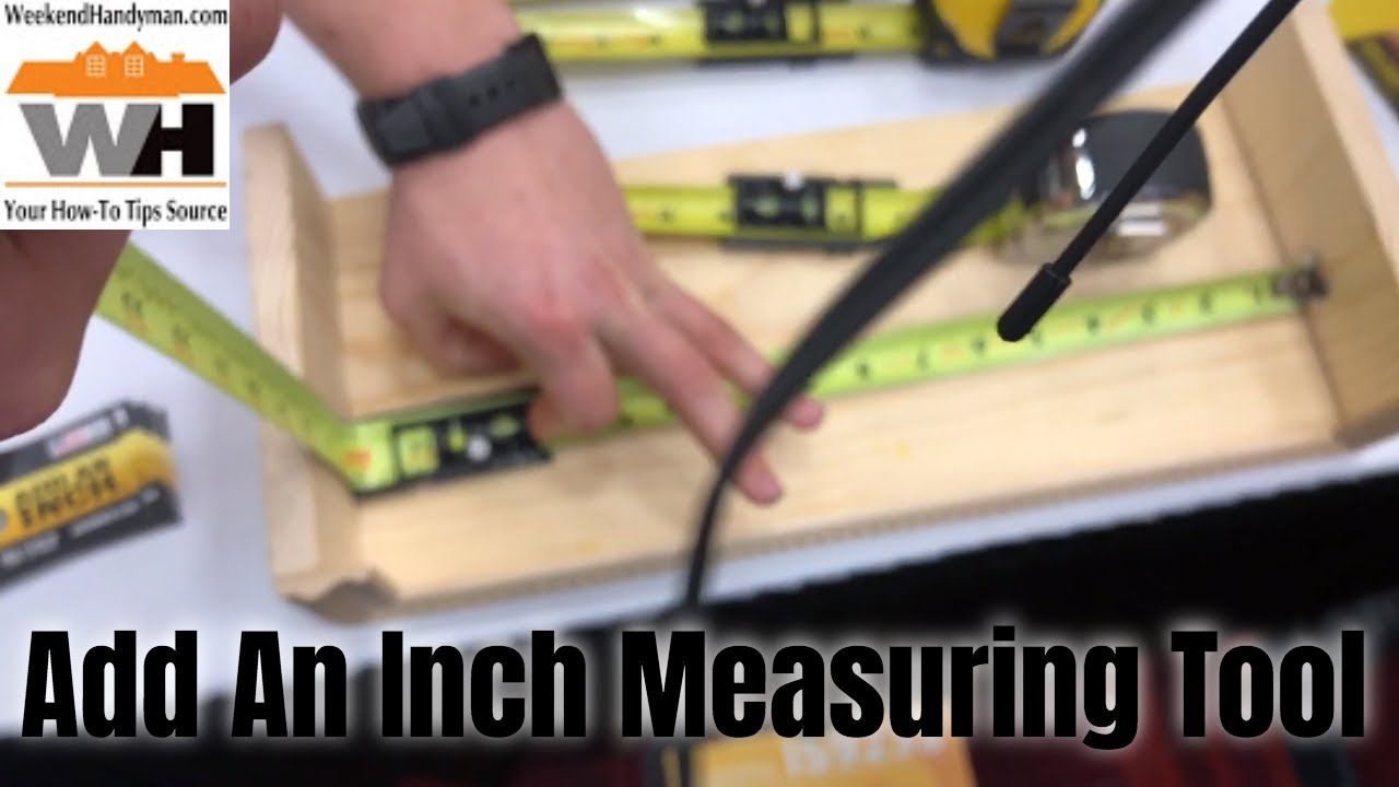 The Greatest Tool For Accurate Inside Corner Measurements | Add An Inch  Tape Measure Adapter Tool