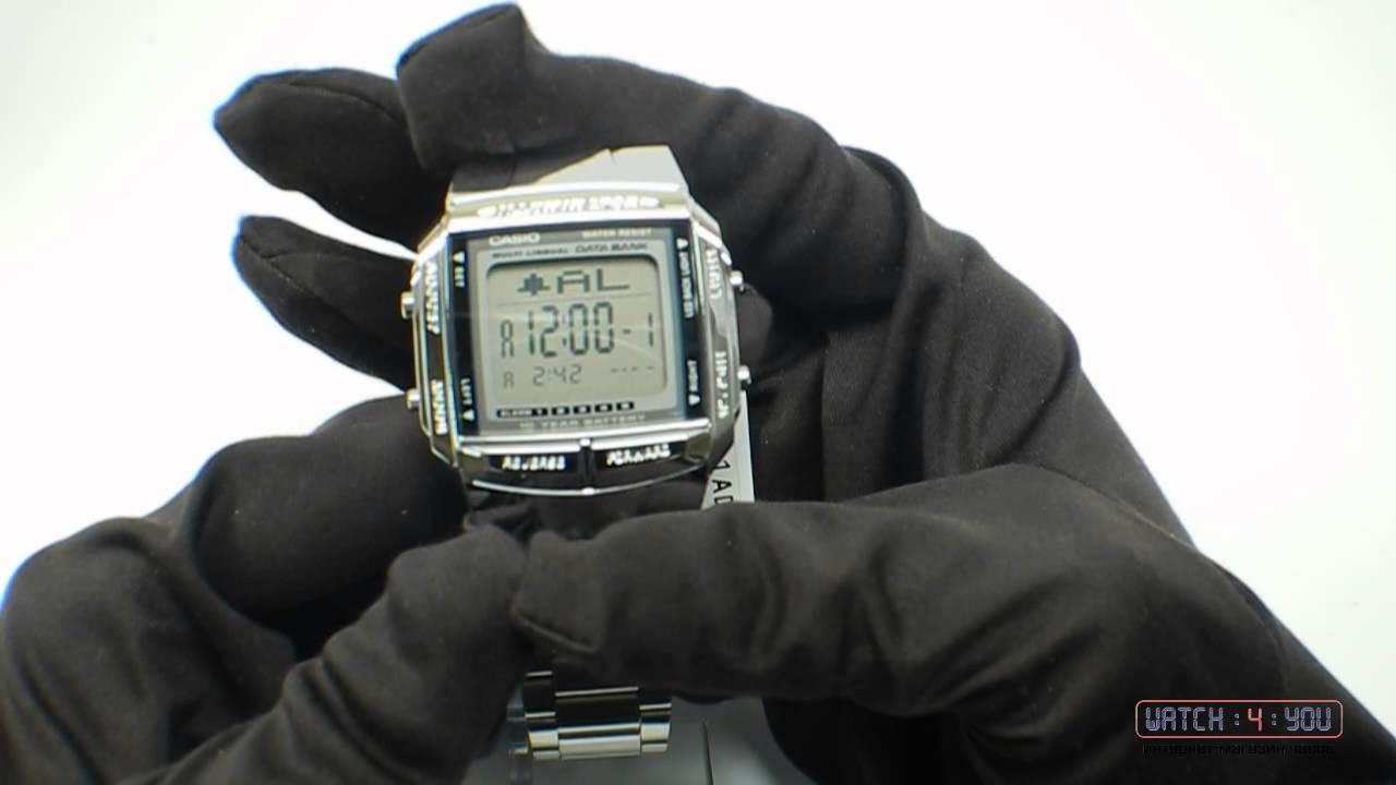 369e9065 Обзор мужских часов Casio DB-360N-1A - YouTube