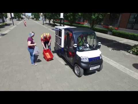 UK's first driverless grocery delivery