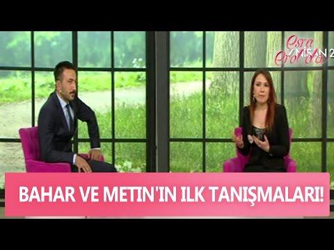Bahar ve Metin'in ilk tanışmaları! Esra Erol'da 28 Nisan 2017 - 390. Bölüm - atv