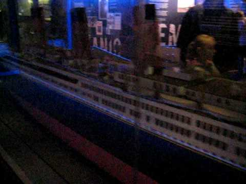 Titanic ship model at Merseyside Maritime Museum