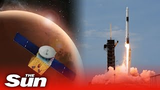 LIVE: UAE's Mars explorer launches from Japan's Space Center