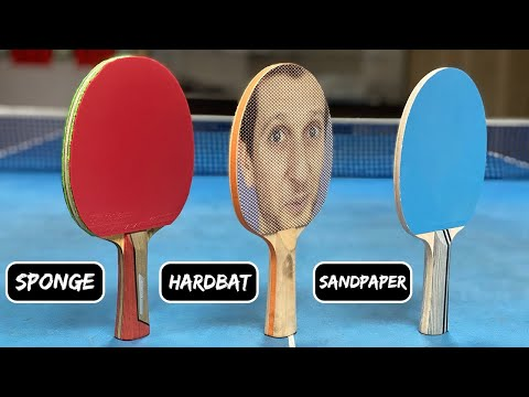 Battle Of The Ping Pong Rackets