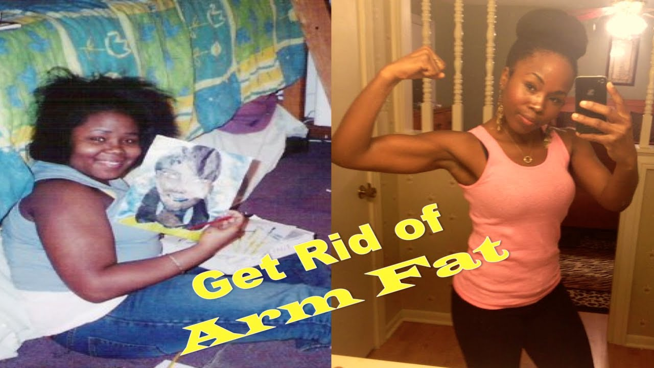 How to Get Rid of Flabby Arms and Gain Muscle - YouTube