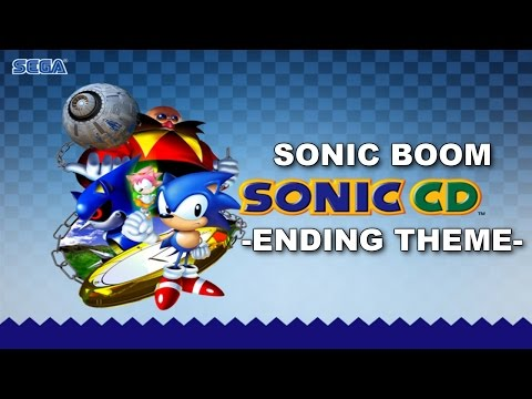 [SONIC KARAOKE] Sonic CD - Sonic Boom ~Ending Theme~ (Pastiche) [WATCH IN HD]