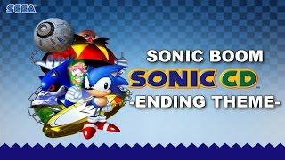 [SONIC KARAOKE] Sonic CD - Sonic Boom ~Ending Theme~ (Pastiche) [WATCH IN HD]
