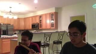 Yeh Honsla Kaise Jhuke - Dor -Flute - Piano Apurva & Jay Seth