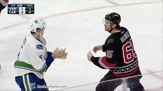 Luca Sbisa vs Ron Hainsey Dec 13, 2016