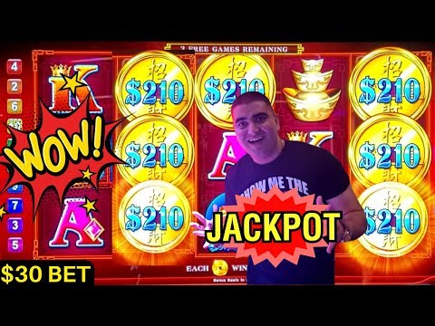 High Limit Echo Fortune Slot Machine BIG HANDPAY JACKPOT - Live Slot Play At THE COSMOPOLITAN
