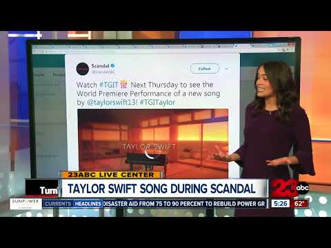 Taylor Swift Debuts New Song During Scandal