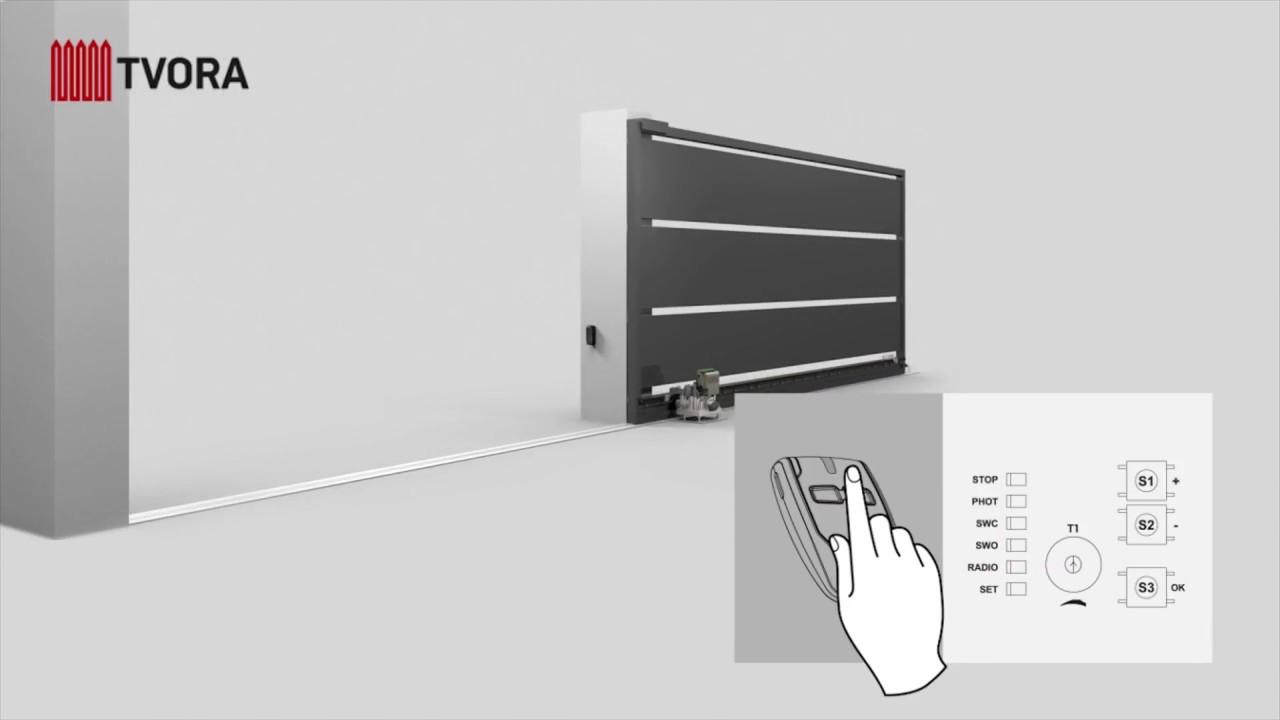 Sliding gates BFT Deimos installation UAB Tvora