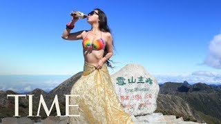 Social Media Famous 39 Bikini Hiker 39 Has Died After A Solo Hike In Taiwan TIME