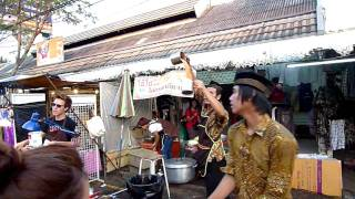 Chatuchak Weekend Market Thai Iced Tea, Bangkok HD