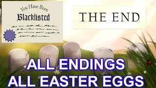 Five Nights at Freddy's 6 | ALL ENDINGS + ALL EASTER EGGS