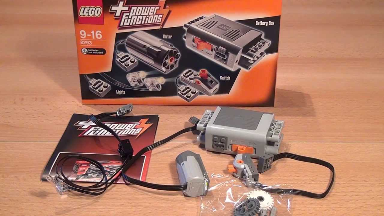 Test Lego Power Functions Tuning Set Lego Technic Set