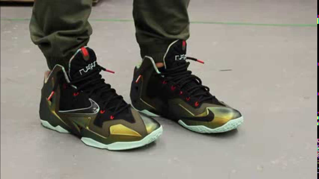 lebron xi quotkings pridequot onfeet video at exclucity youtube