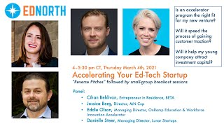 Accelerating Your Ed-Tech Startup