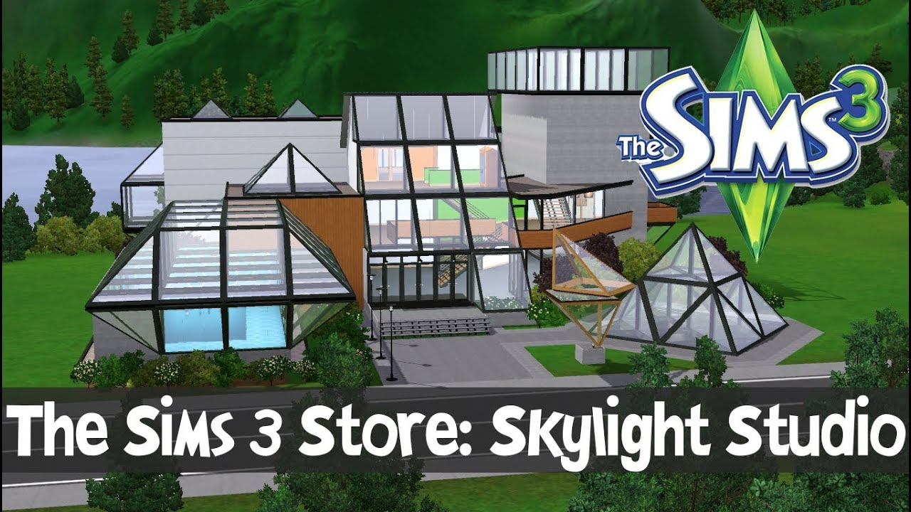 Skylight studio for the performing arts sims 3