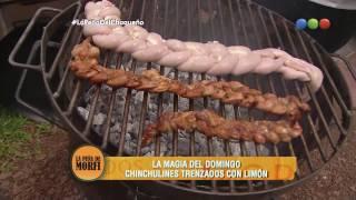 Chinchulines trenzados - La Peña de Morfi