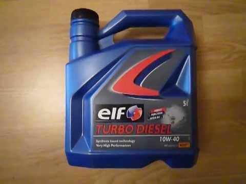 Elf Evolution 700 STI 10W40 original product show - YouTube