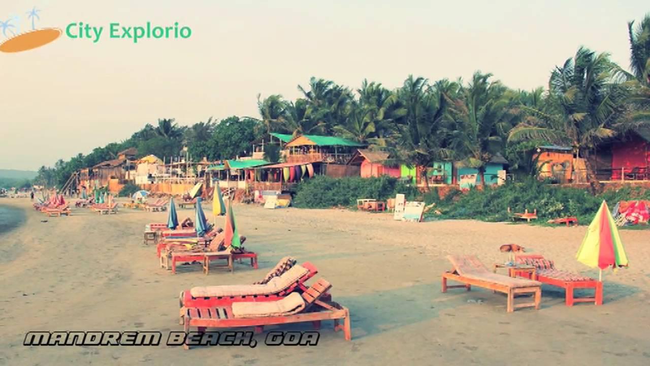 Mandrem Beach Goa India Amazing Place For Evening Walk City Explorio Youtube