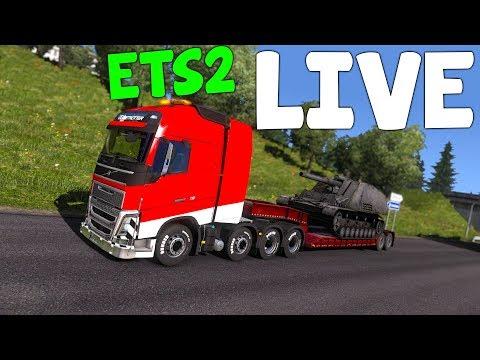 LIVE: MULTIPLAYER TRUCKING!  -  Euro Truck Simulator 2
