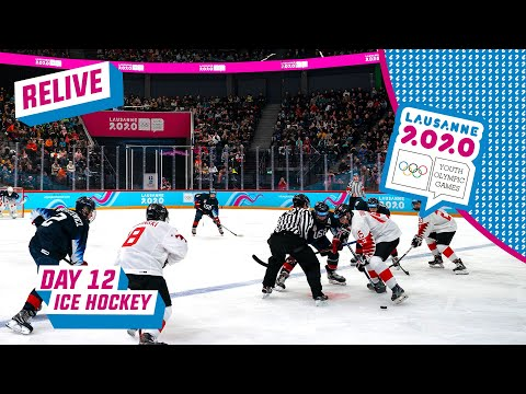 LIVE - Ice Hockey - USA vs Canada - Men's Semifinal - Day 12 | Lausane 2020