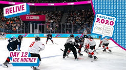 RELIVE - Ice Hockey - USA vs CANADA - Men's Semifinal - Day 12 | Lausanne 2020
