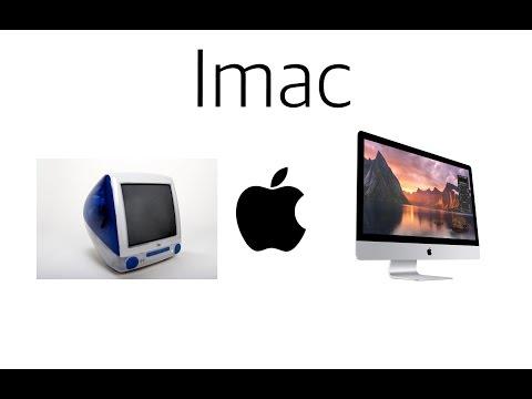  Évolution du iMac de 1999 à 2015