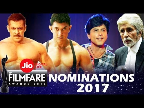 62nd Jio Filmfare Awards 2017 - Full Nominations List - Best Actor, Best Actress...