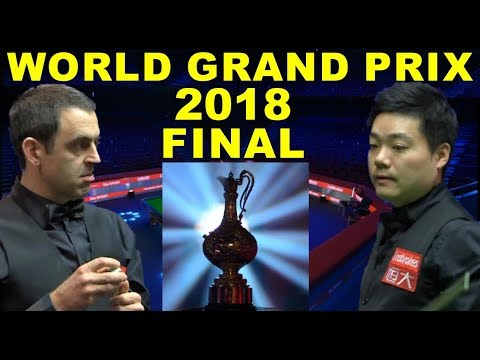 O'Sullivan v Ding 2018 FINAL World Grand Prix Snooker