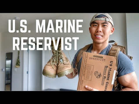 Day In The Life Of A Marine Reservist (DRILL WEEKEND)