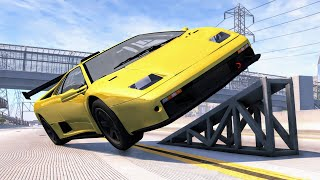 Satisfying Rollover Crashes #9 – BeamNG Drive | CrashBoomPunk
