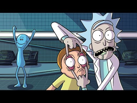 RICK AND MORTY HIDE AND SEEK!
