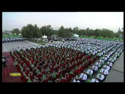 Folklore Concert, Turkmenistan