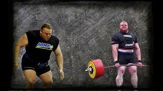 Benni Magnusson Deadlift Progression 400,5 kg - 465 kg