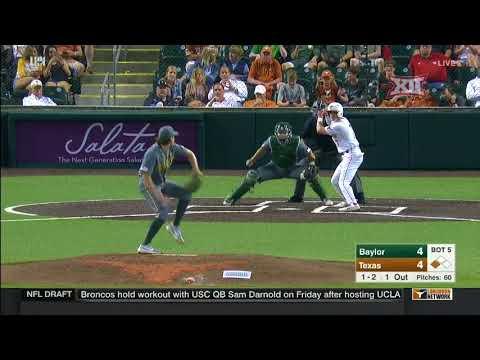 Baylor vs Texas Baseball Highlights – Apr. 6