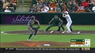 Baylor vs Texas Baseball Highlights - Apr. 6