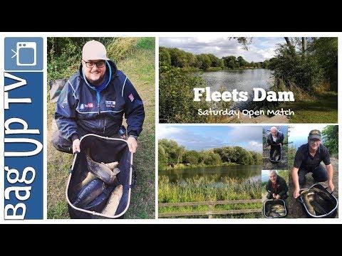 Fleets Dam - Open Match - BagUpTV - Match Fishing - South Yorkshire,Barnsley