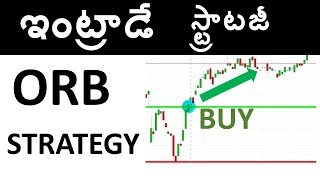Opening Range Breakout ORB(TELUGU) Strategy for Intraday Trading