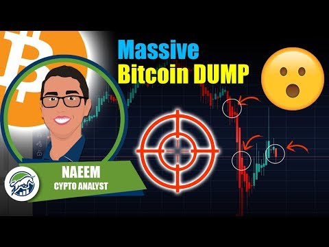 Massive Bitcoin DUMP Here's The TARGET - 3.2 Million Unemployment - 2 Trillion Dollar Stimulus