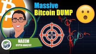 Massive Bitcoin DUMP Here's the TARGET - 3.2 Million Unemployment - 2 Trillion Dollar Stimulus