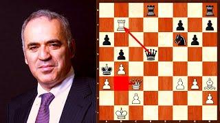 أشرس هجوم في تاريخ الشطرنج | كاسباروف ضد توبالوف