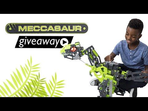 Win Meccano Meccasaur T-Rex And $100 Toys