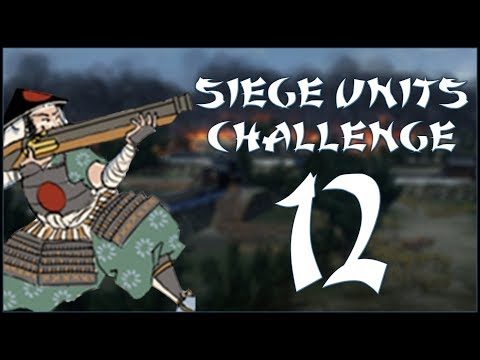 HOW UNNEIGHBOURLY - Hojo (Challenge: Siege Units Only) - Total War: Shogun 2 - Ep.12!