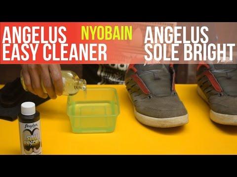Nyobain Angelus Easy Cleaner + Angelus Sole Bright di Piero mas Bejo